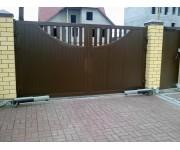Установка ворот